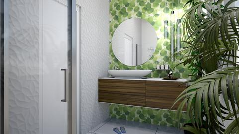 Urban jungle bathroom - Eclectic - Bathroom  - by agnesdualko