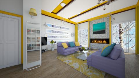 M_YandP - Minimal - Living room  - by milyca8