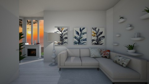 livingroom1 - by Masha Gofman