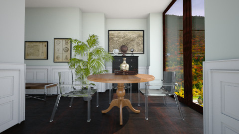 dining room - Modern - Dining room - by paveldiego