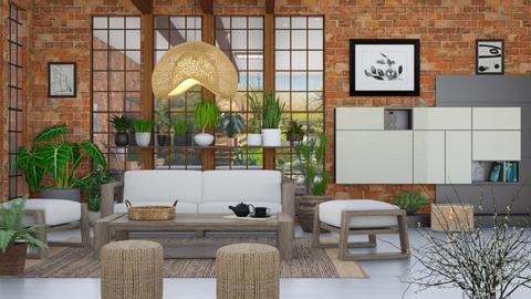 M_ Japandi - Living room  - by milyca8
