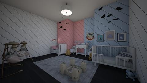 Twins 2 - Kids room - by briellej81