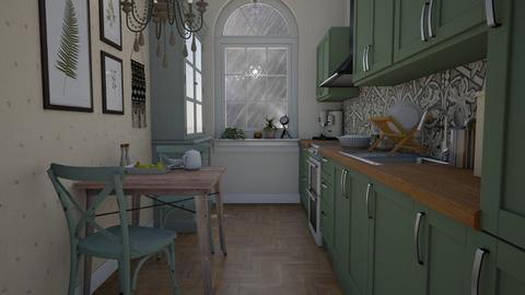 Stormy day - Kitchen  - by Tuija