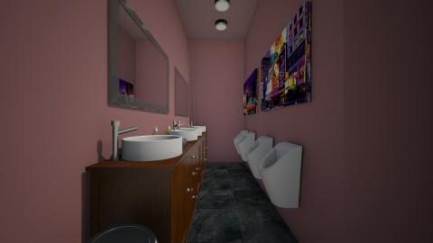 venus washroom male - Classic - Bathroom  - by vivian wong_172