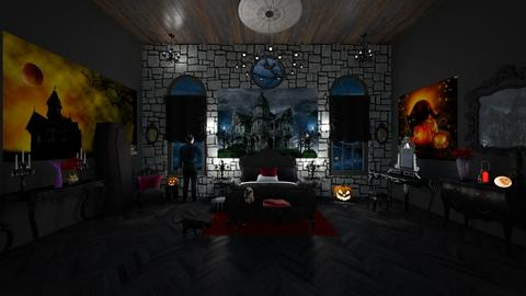 Haunted House - Eclectic - Bedroom  - by  krc60