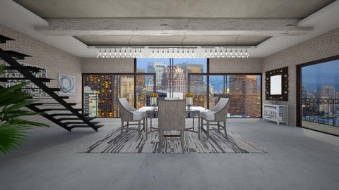 BCR - Modern - Dining room - by Saj Trinaest