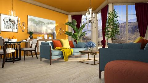 IND - Living room  - by iraa