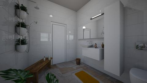 bathroom studio 3 new  - Minimal - by BlokhEphroni