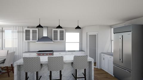 1855 corner Kitchen - Modern - by charlesburg