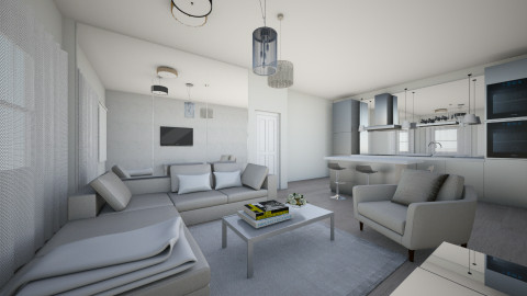 living space 1 - Living room - by Ana Mercedes
