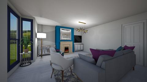 Livingstove02 - Living room  - by lattys00