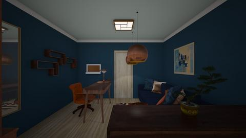 Working room 2 - Eclectic - Office  - by Zirona
