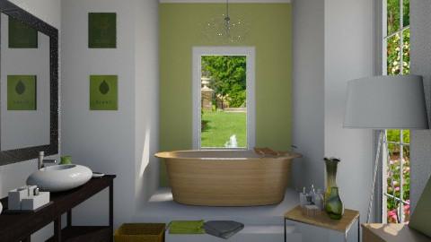 Ornate bathroom remix - Modern - Bathroom  - by rachelmarieknepp