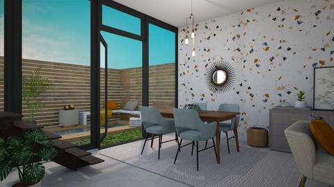 dining room - Office - by _xandra_