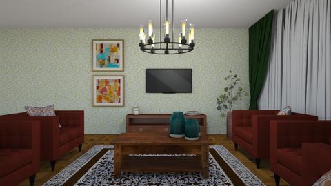 2 - Living room  - by Mahla Ahmadi79