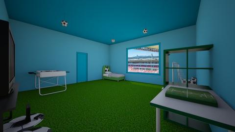 Football room - Bedroom - by lokneszikolbasz