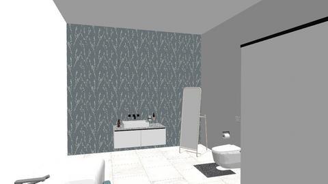 bathroom 1  - Bathroom - by Amira12