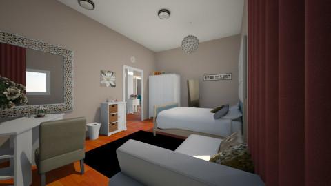 Bedroom Redesign - Bedroom - by Narcisse94
