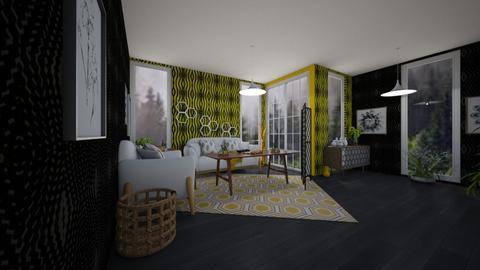 Beehive Living - Modern - Living room  - by Han Jisung