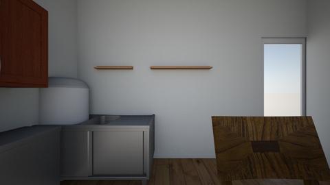 TRABAJO PRACTICO 1 - Rustic - Living room  - by patricia77
