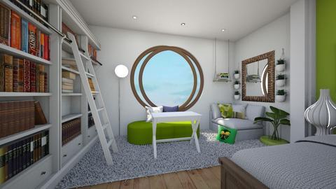 R E A D E R - Bedroom  - by bluedolphin12
