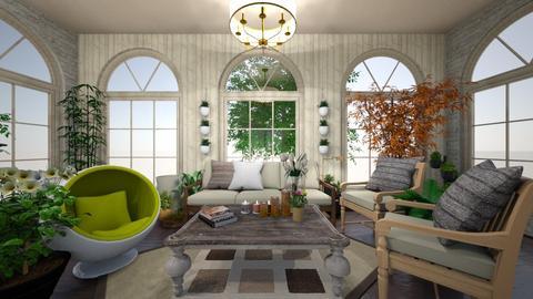 A cozy rest place - Vintage - Garden  - by M i n h  T a m