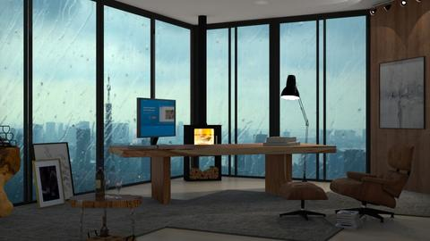 Stormy Weather Office - Office  - by ilikalle