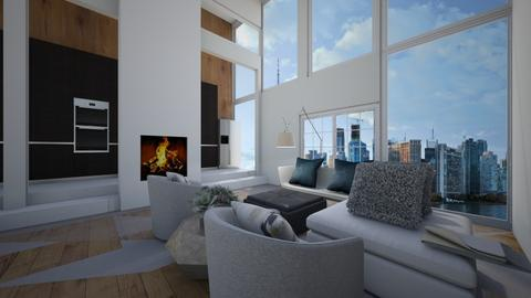 modern living room - Living room  - by tessmcquillan