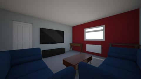 Layout 1 - Living room  - by OrangeGhost