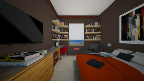 For Nikolai II - Modern - Bedroom  - by _Taz_