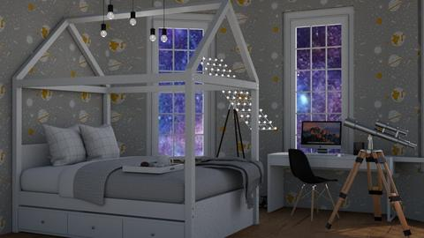 Space Themed Contest - Kids room  - by Victoria_happy2021