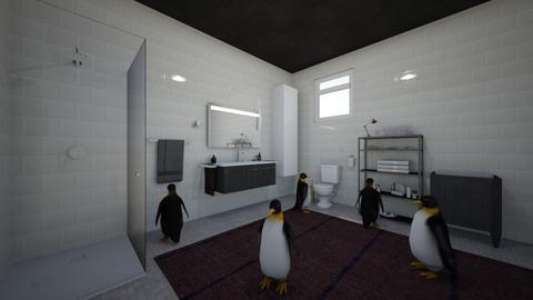 penguin - Bathroom  - by cd05