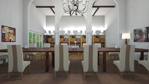 Villa Proboscis Dinning  - Dining room  - by MPIB