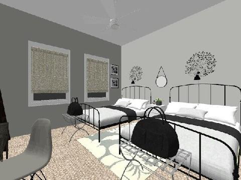 Venable Guest Room - Bedroom - by loft313