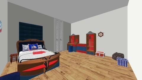 pirate 2 - Classic - Kids room - by Jordyn Ehmpke