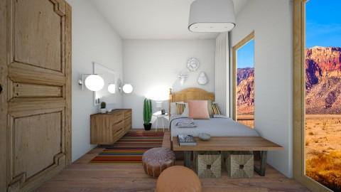 Desert Chic - Eclectic - Bedroom  - by Raquel Collison
