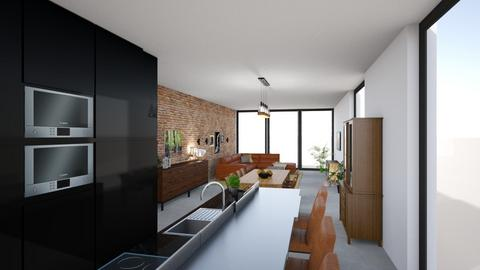 groundfloor - Modern - Living room  - by ppint