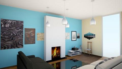 living modern room - Modern - Dining room  - by Lourdes Novillo Lucas Vaquero