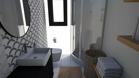 Modern bath - Modern - Bathroom  - by seeeeeesiiiiiiii