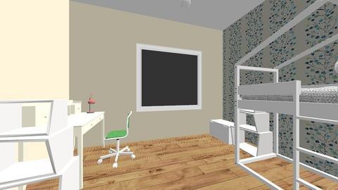 Ania - Kids room  - by malgorzataLupki