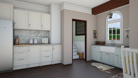 Farmhouse kitchen - Country - Kitchen  - by megalia42