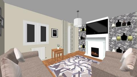 Our new lounge design - Living room - by BennettF14