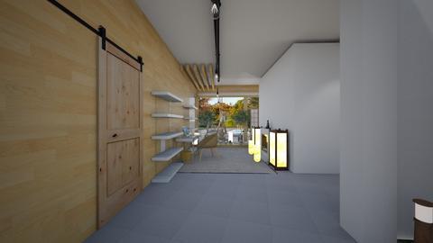 Zen_home office - Office  - by lovasemoke