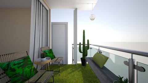 balcony - by smariahm98