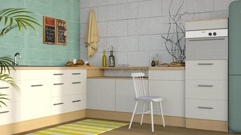 Summer Kitchen - Modern - Kitchen - by stephendesign