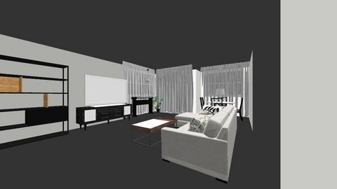Ori Saar - Living room  - by orisaar
