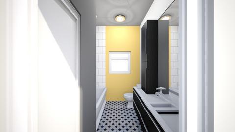 bathroom dark - Bathroom  - by micheleweissglaza