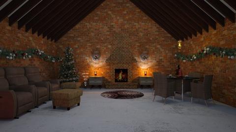 charismas Living room - Rustic - Living room  - by MB2006