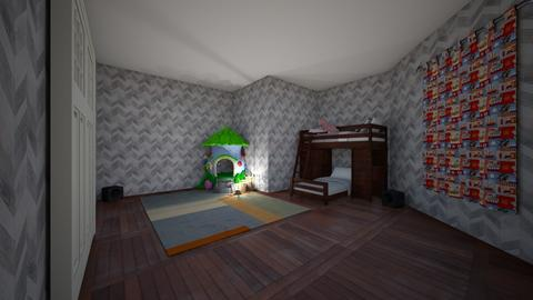Twin girls room - Vintage - Kids room  - by Hay_Hay