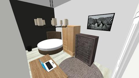 Zebra Bedroom - Modern - Bedroom  - by riordan simpson